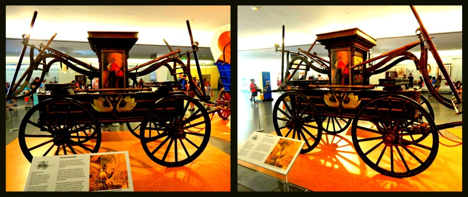 Fire Wagon circa 1842