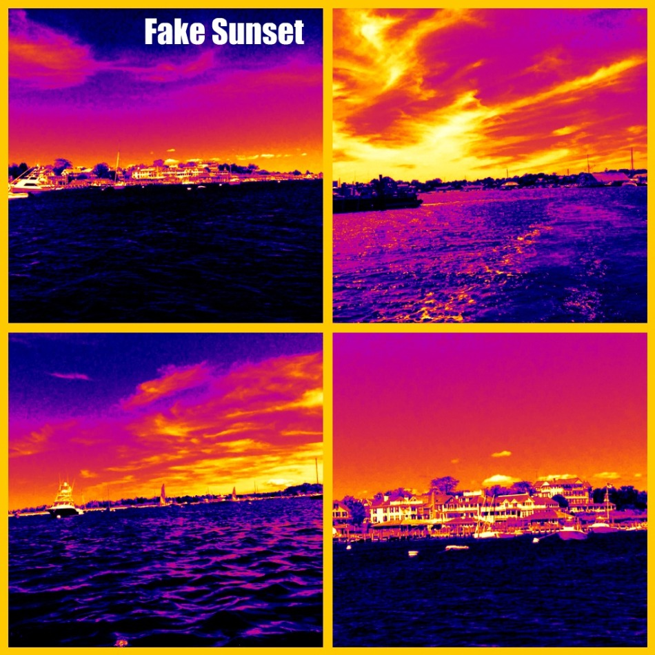 Fake sunset (heatwave)