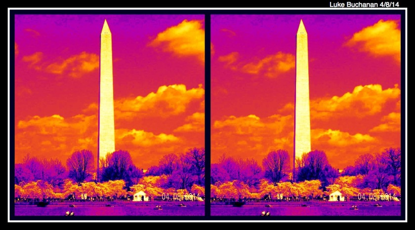 Cherry Blossom Festival 2014 - Washington Monument Heat Wave