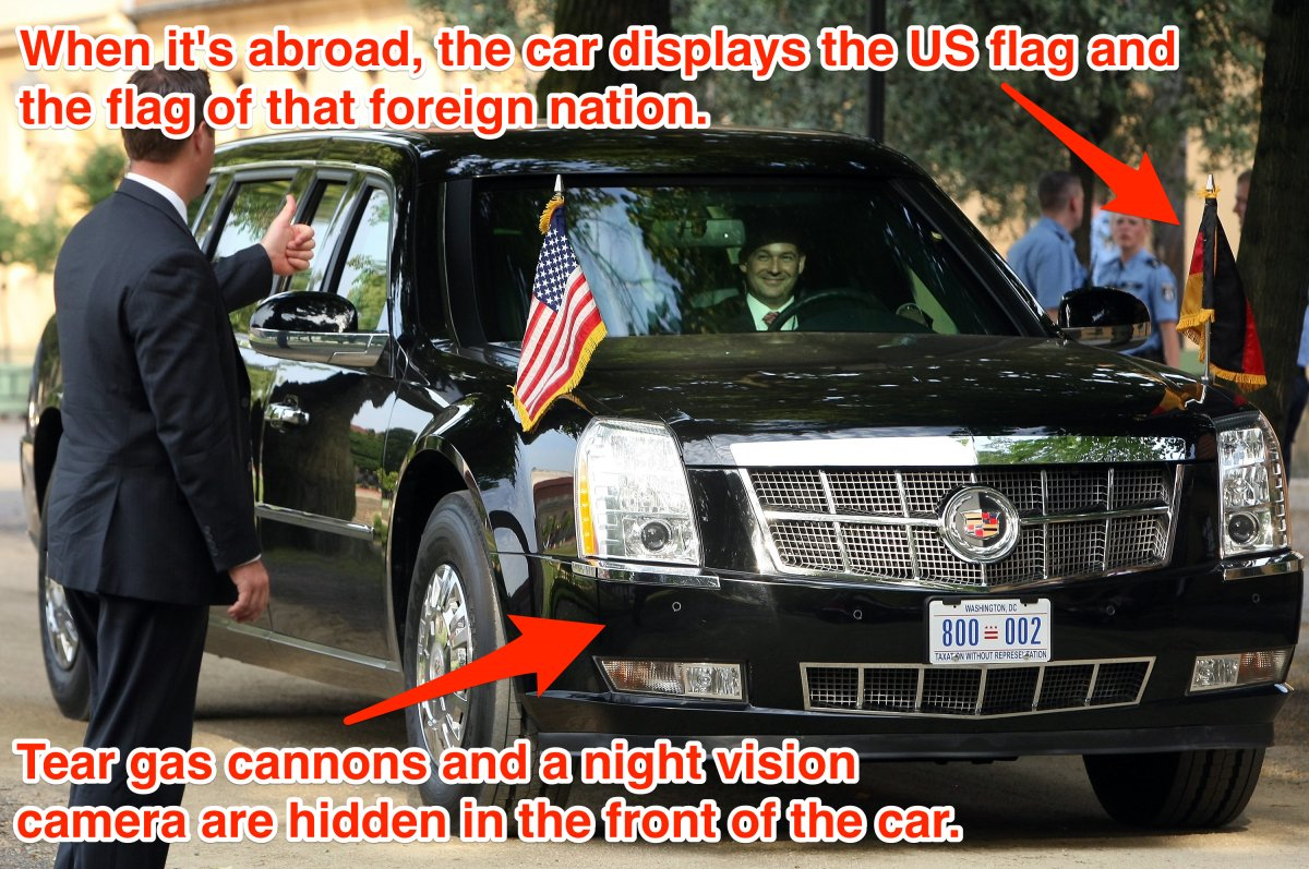 Obama's Armored Limousine A.K.A. 'The Beast'