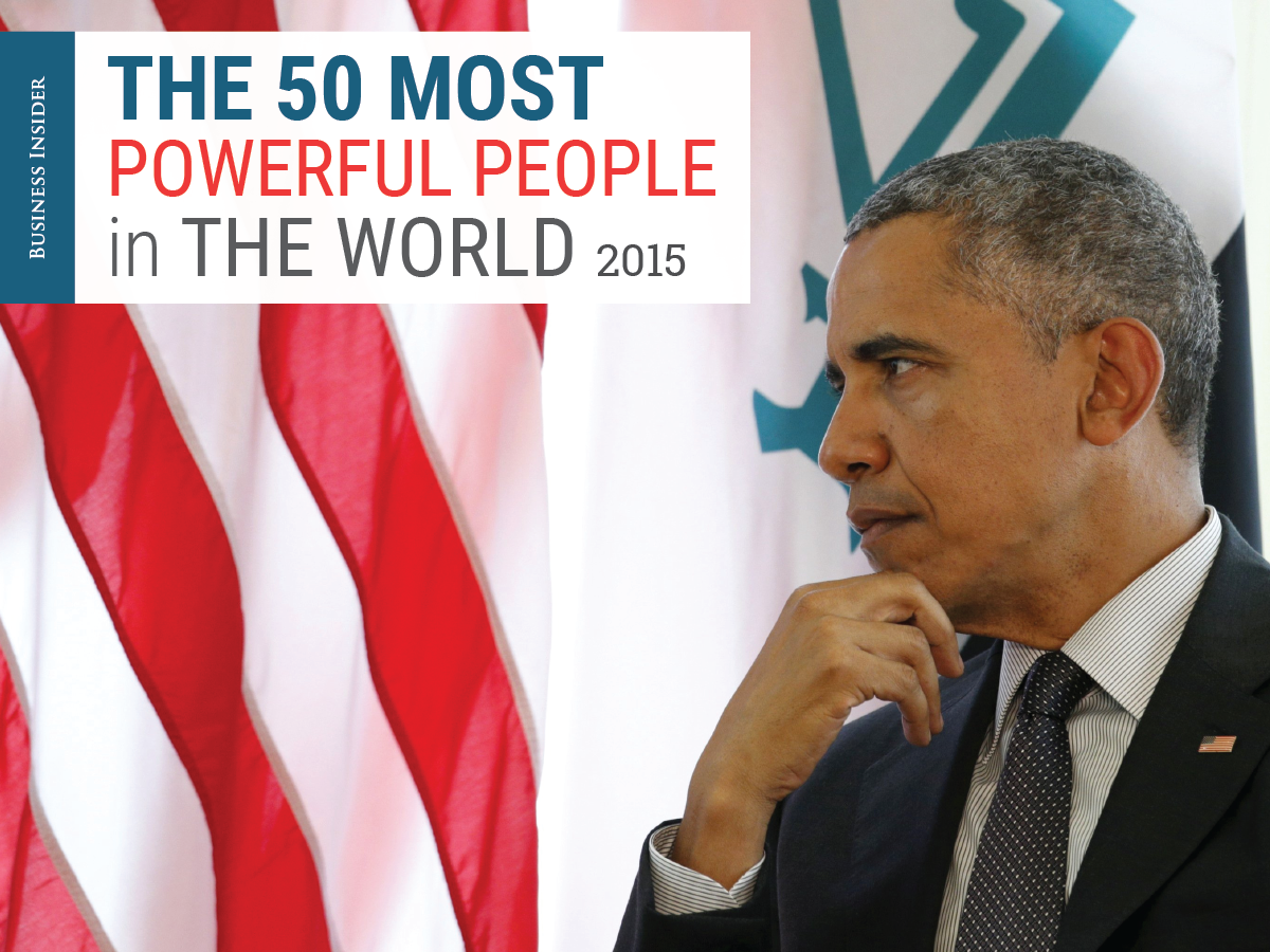 50 most powerful people in the World