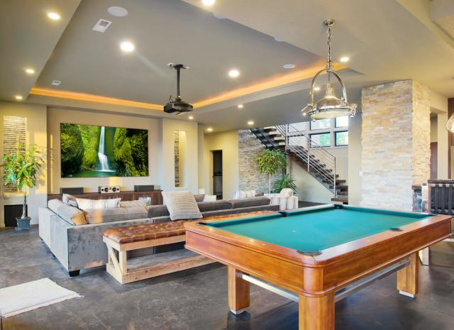 spacious-man-cave-with-entertainment-area-and-billiards-table